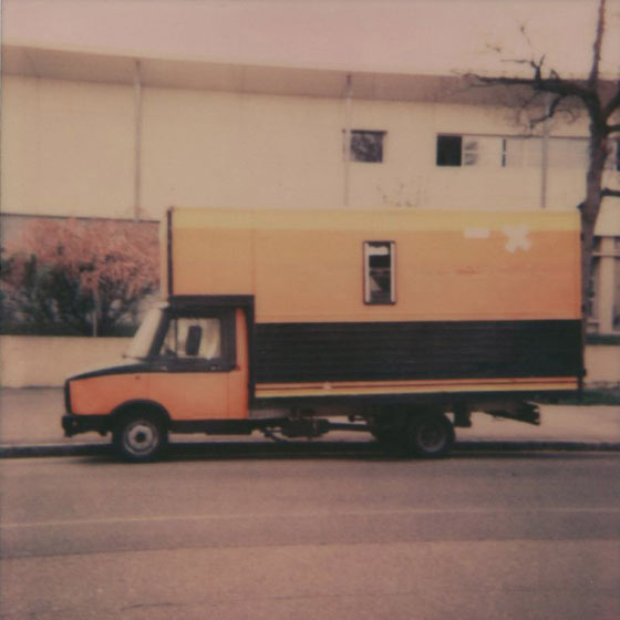 Trucks, a polaroid series by Clément Sanna