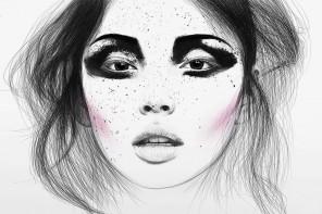 Illustration de mode et portraits d'une jeunesse par Kirill Hohlov