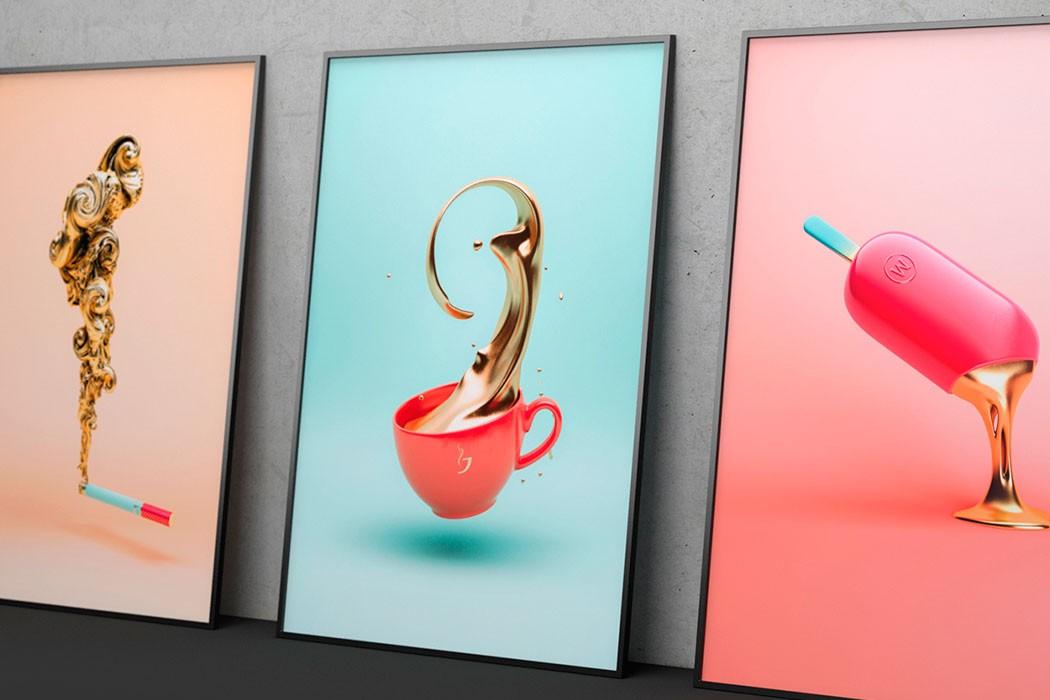 Les nouveaux travaux de l'artiste 3D Črtomir Just