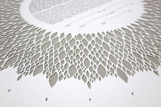 Le paper art géométrique de Ruth Mergi