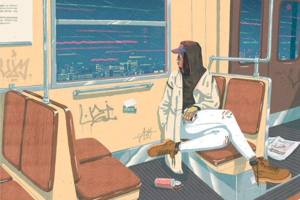 Les douces illustrations narratives by Jeff Östberg