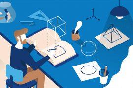 Les illustrations digitales ludiques de Zwartekoffie
