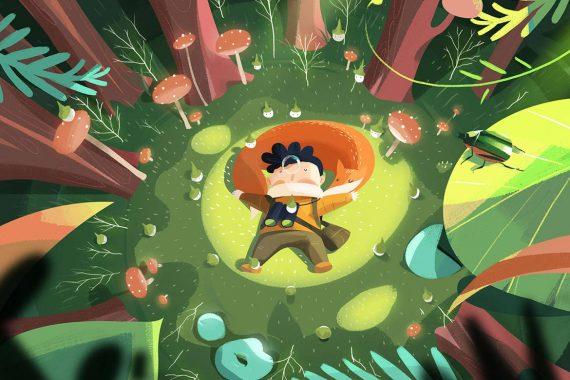 Les belles illustrations narratives de Guihuahuzi