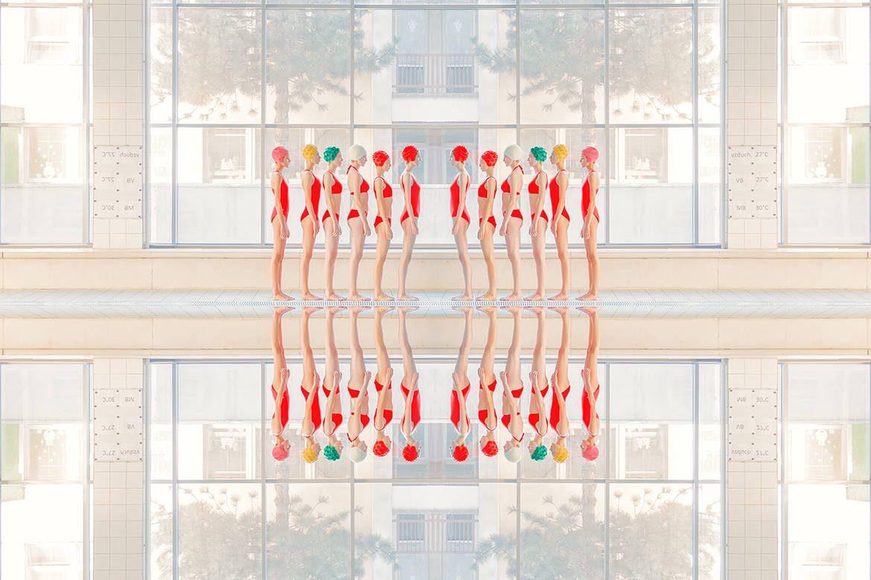 Couleurs et symétrie par Maria Svarbova
