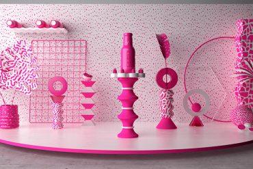 Hello Hatsu ! set design par Pablo Alfieri