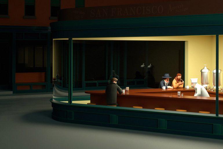 Création de personnages 3D par Superfiction