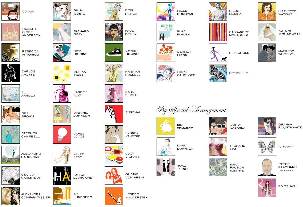 American illustrator agencies
