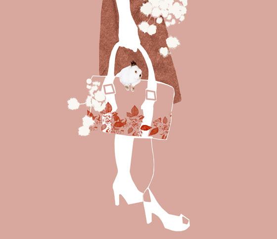 Lauren Bishop, illustration de mode