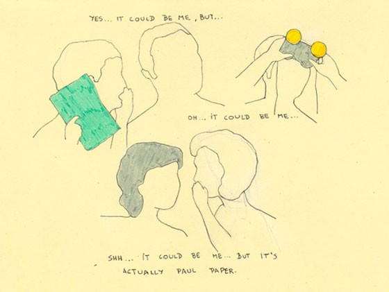 Verónica Blejman, dessin minimaliste