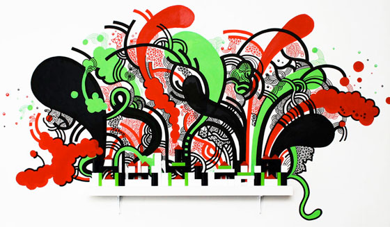Kate Moross, London music drawings