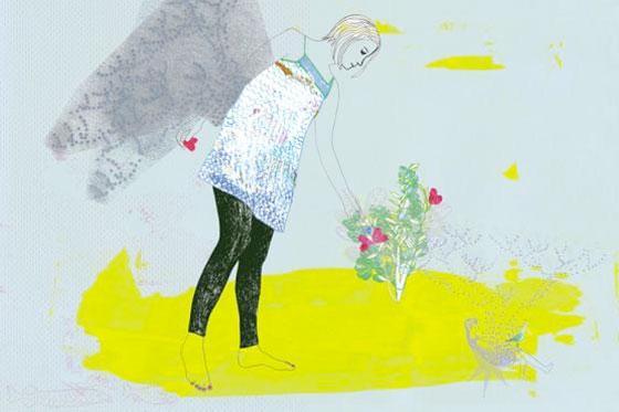 Anna Ladecka dessine en douceur