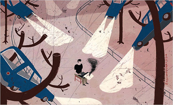 Creative illustrator Emiliano Ponzi