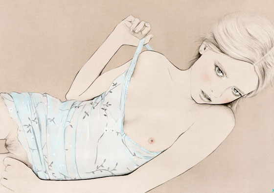 Fashion photography and illustration by Kelly Thompson