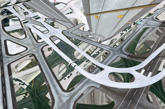 Expériences métaphysiques urbaines par Hubert Blanz