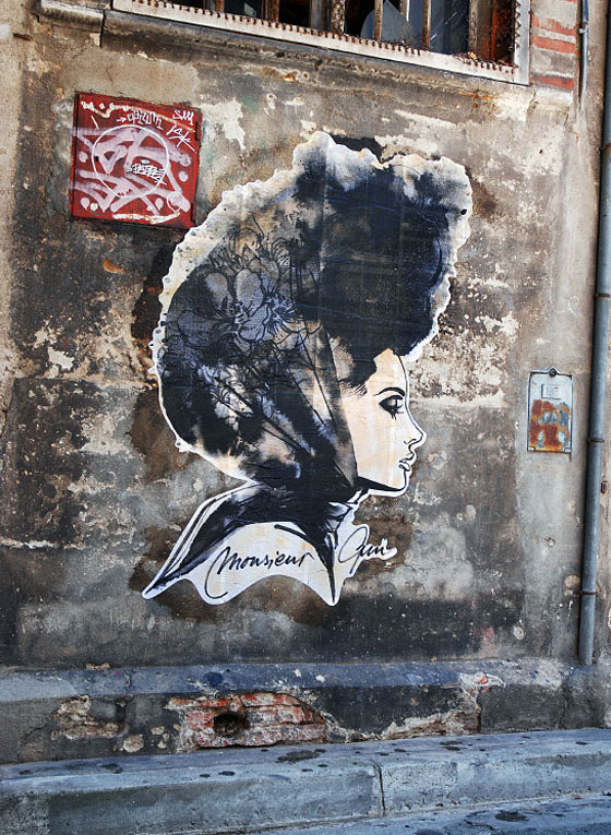 Mode vintage et street art par Mr Qui