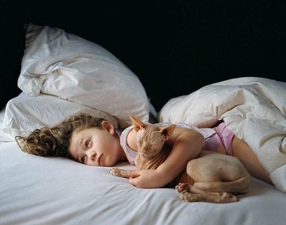 Les relations humains-animaux par l'artiste Robin Schwartz