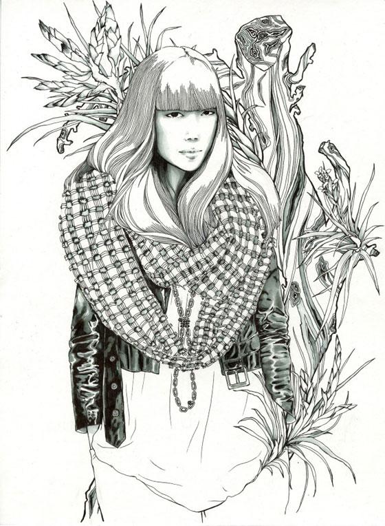 Passionnée de dessin : Nicole Guice