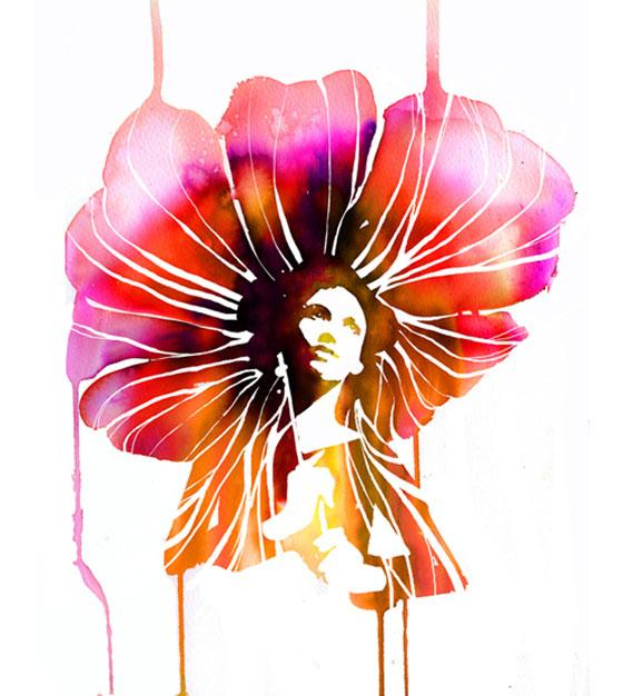 Aquarelles glamour : Stina Persson