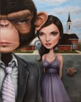 Pop Surrealist paintings by K2: Ken Keirns