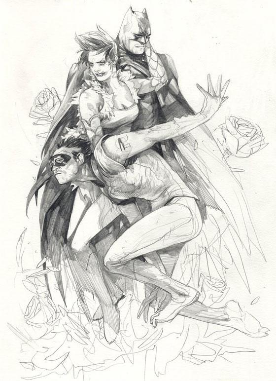 Les dessins magiques de Wesley Burt