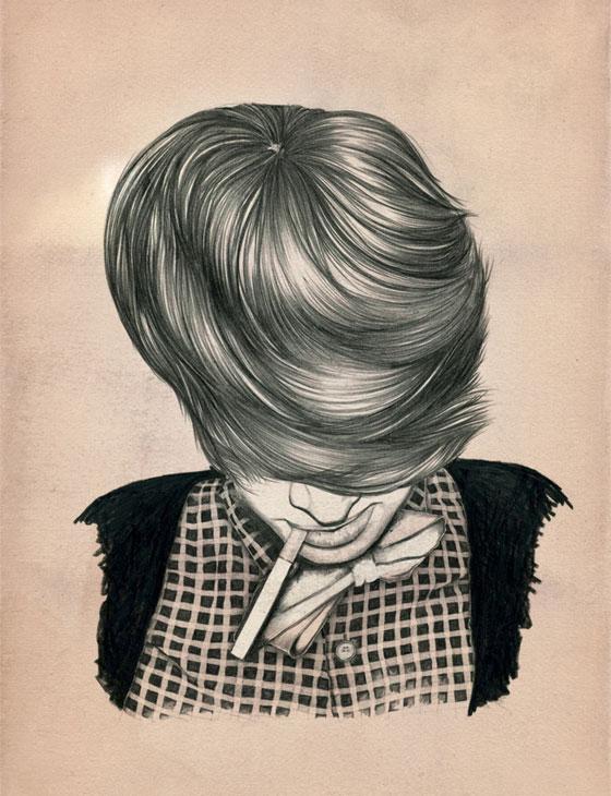 «Cool attitude» par l'illustratrice Caroline Morin