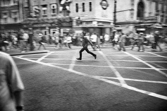 Londres en noir et blanc par Nobuyuki Taguchi
