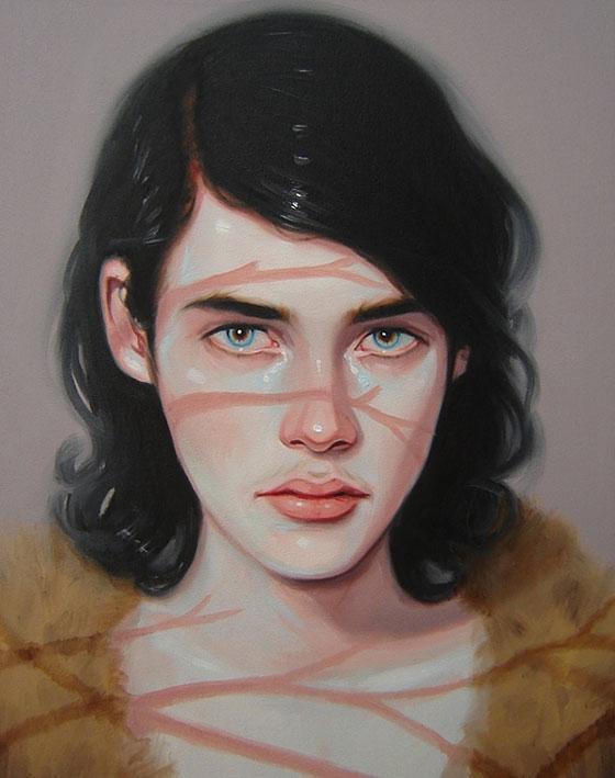 Les portraits peints mythologiques de Kris Knight
