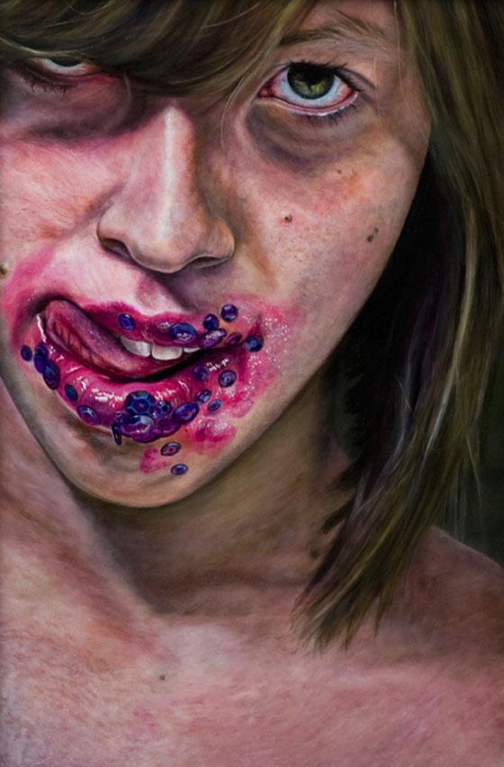 Amanda Elizabeth Joseph, spectaculaires peintures à l'huile