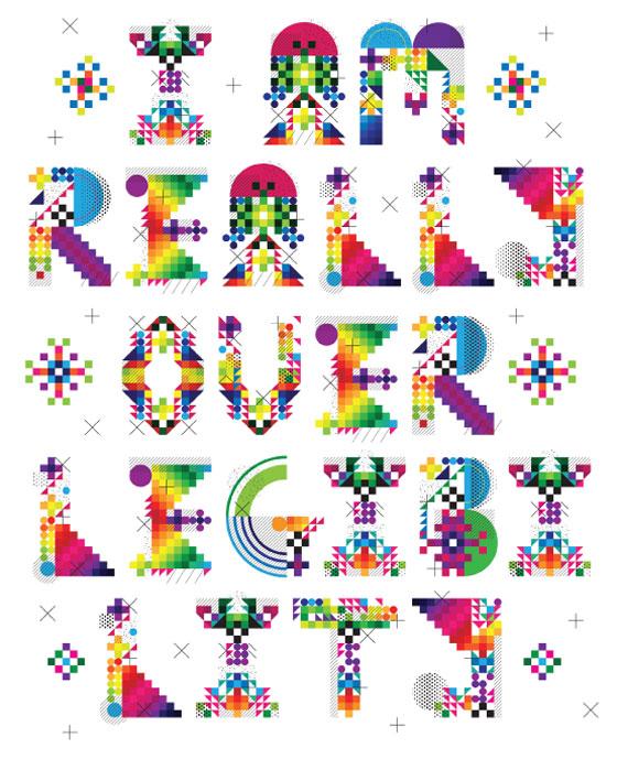 Gareth Leyshon : une typographie créative