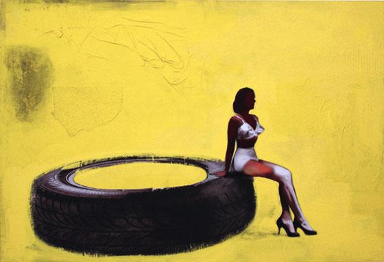 Antonello Silverini, collage numérique, peinture et illustration