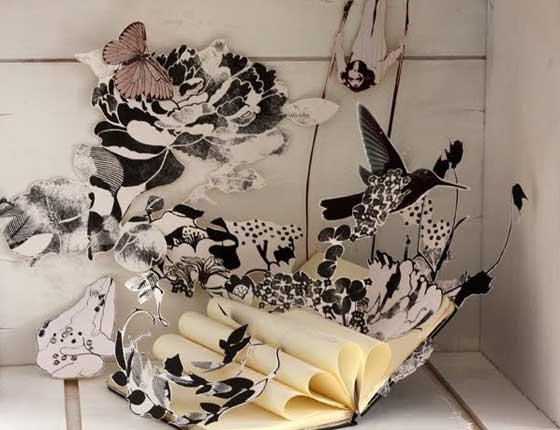 Marion Senlis, motifs floraux et illustration