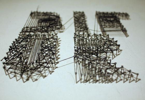 Les expérimentations graphiques d'Adèle Beauvineau