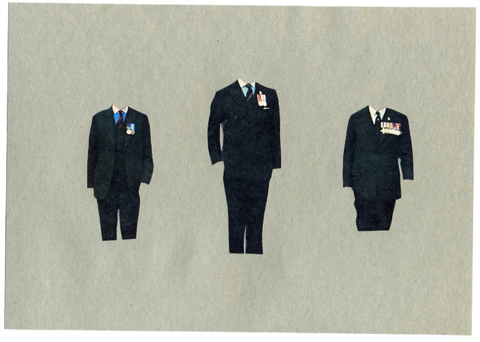 Anthony zinonos collages vintage minimalistes partfaliaz for Minimal art gregory battcock
