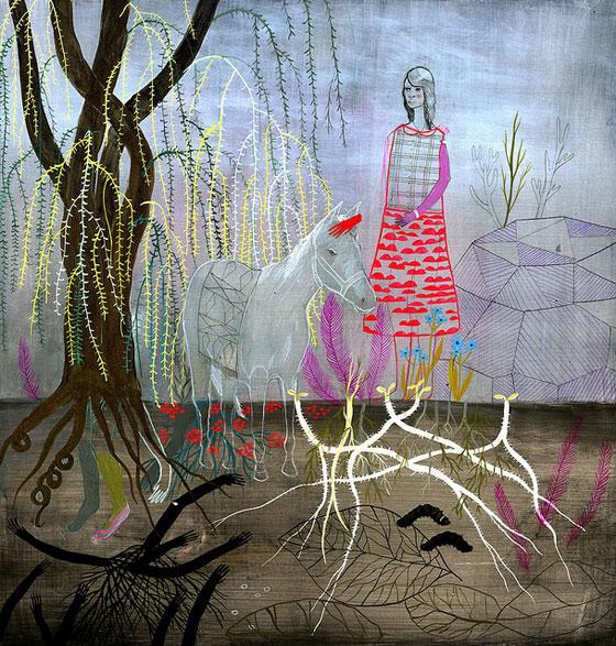 Betsy Walton: une peinture spontanée et inspirée