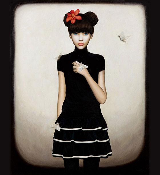 Melissa Haslam, peintures narratives romantiques