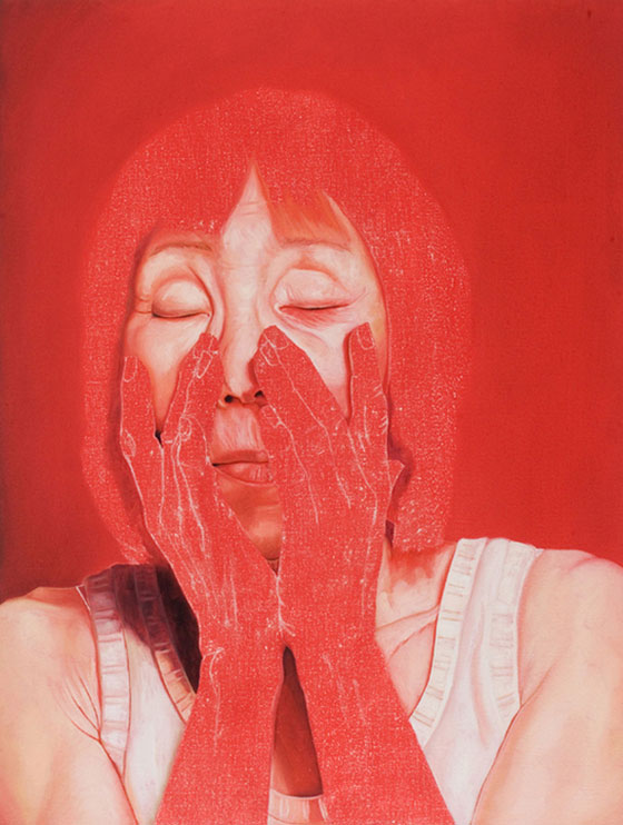 Jenny Morgan, contemporary painted portraits