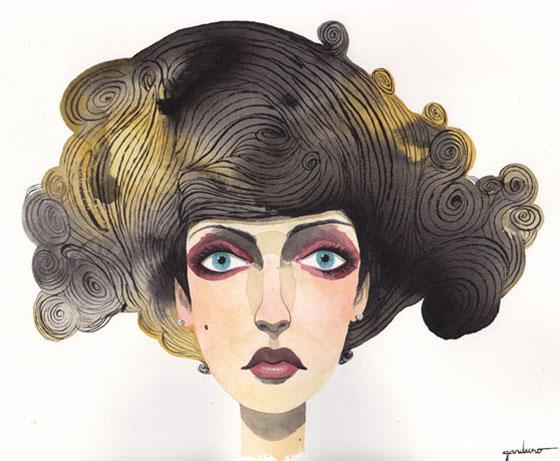 Ken Garduno, portraits peints façon SF