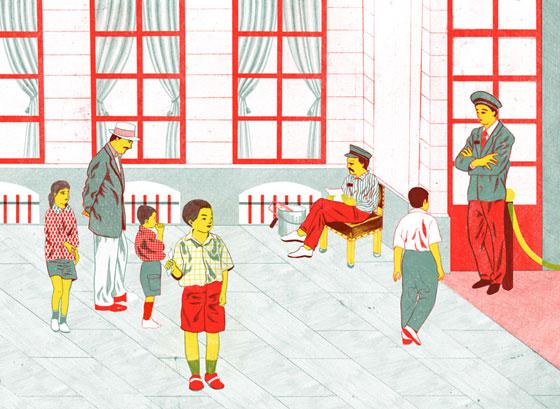 Mayumi Otero, des illustrations simples et originales