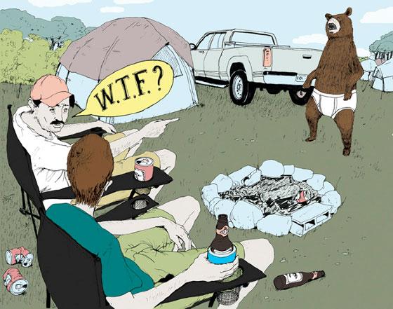 Michael Byers, des illustrations pleines d'humour et de fantaisie
