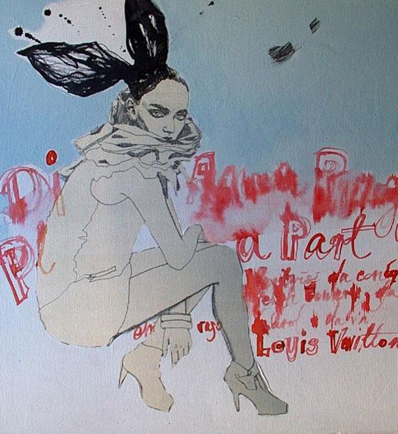Anna Halarewicz, peinture de mode et expérimentations