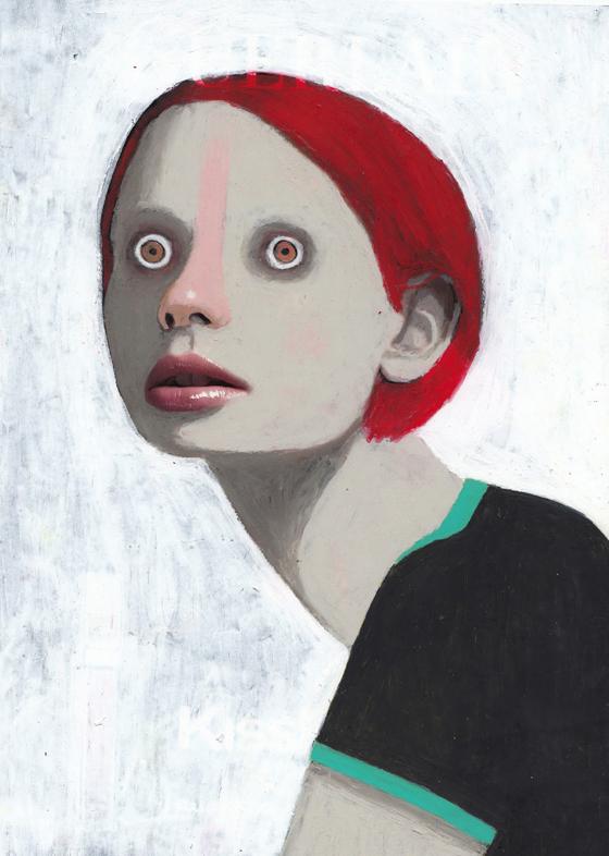 Les étranges portraits peints de Guim Tió Zarraluki