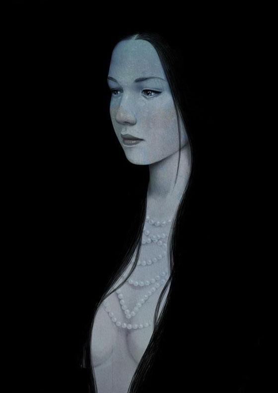 Dessins et peintures de femmes par Diego Fernandez