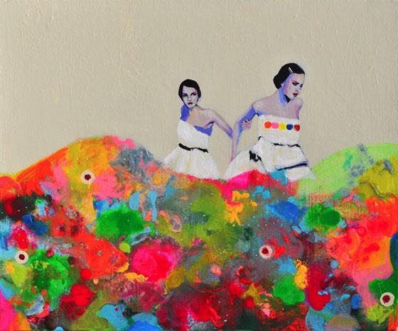 Joshua Petker du graffiti à la peinture figurative