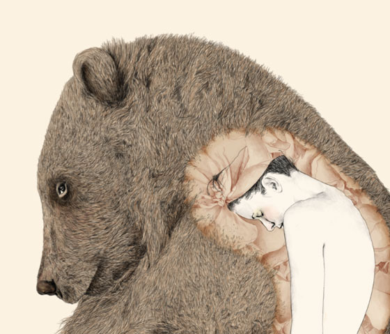 Delicate illustrations by Gabriella Barouch