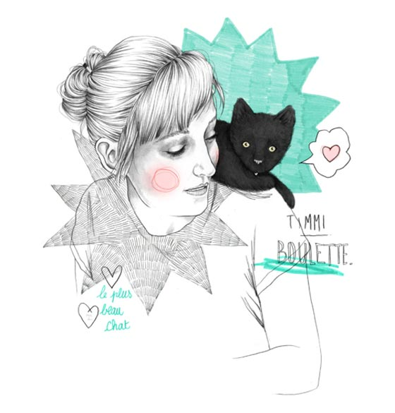 Illustrations de mode et lifestyle par Carole Wilmet