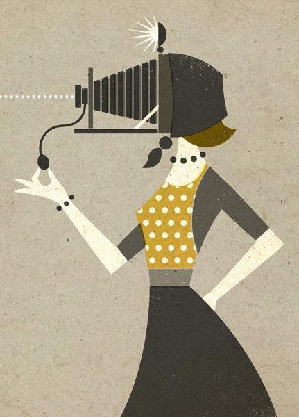Delicious vintage illustrations by Zara Picken | Partfaliaz