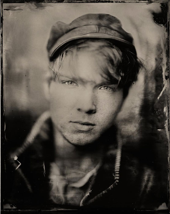 Wet plate collodion, contemporary portraits by Mark Tucker