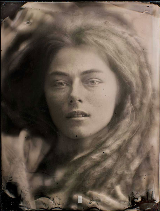 Wet plate collodion, portraits by Mark Tucker