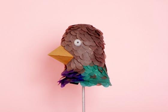 Paper art and set design by Rozenn LG