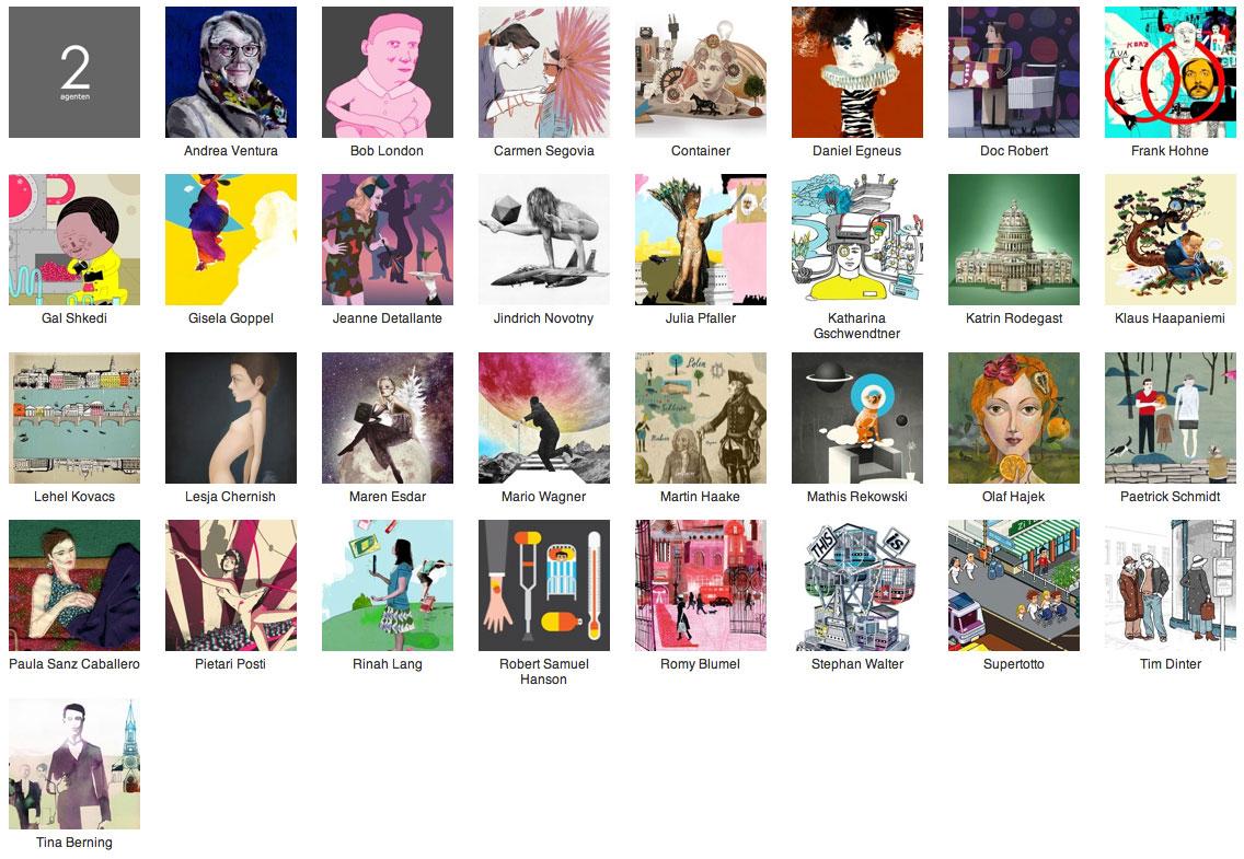Illustration agencies in Germany | Partfaliaz
